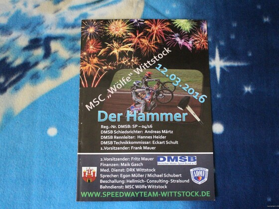 "12.03.2016 "" Der Hammer "" - Wittstock"