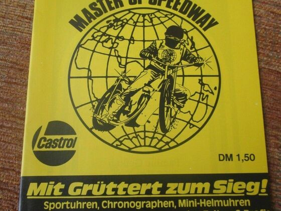 Master of Speedway 1980 Bremen
