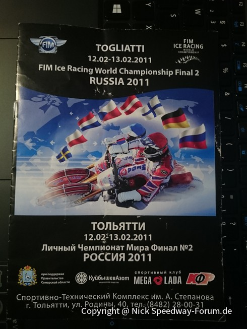 Icespeedway Тольятти / Togliatti - Front Mega-Lada