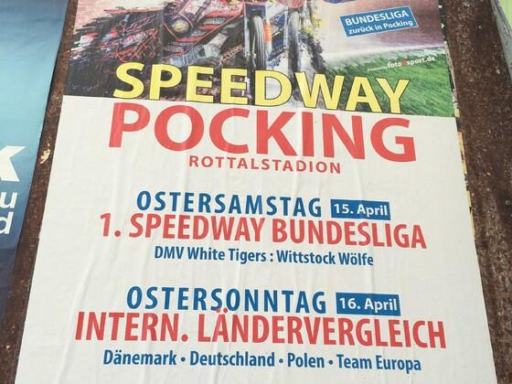 Speedway Wochenende in Pocking