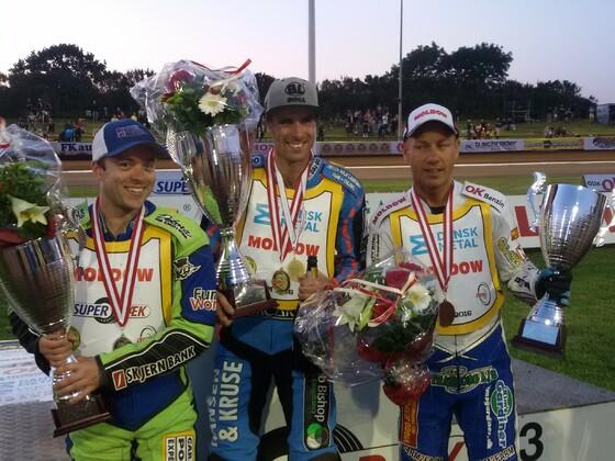 Siegerehrung Dänische Meisterschaft 2016 Holsted
