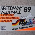 1989 München - Werbe-Aufkleber
