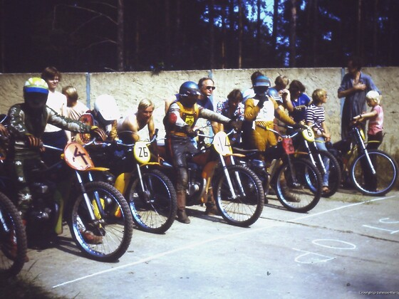 Sandbahnrennen Lübbenau 1979
