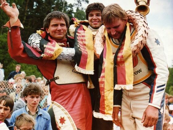 Teterower Bergringrennen Siegerehrung 1988