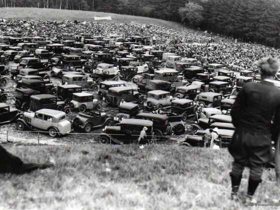 Parkplatz Teterower Bergring 1935