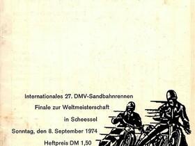 Scheessel Eichenring - Sandbahn 1974