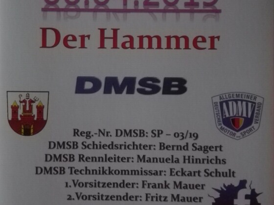 Der Hammer, Wittstock 06.04.2019