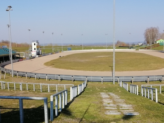 Teterow - Arena im CORONA-Schlaf
