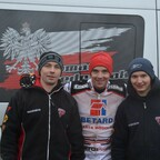 Tomek Jedrzejak und sein Team in Diedenbergen