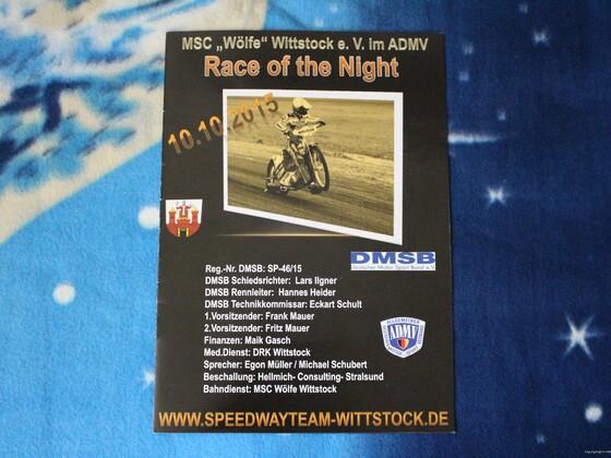 10.10.2015 - Race of the Night in Wittstock